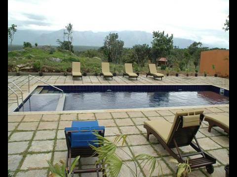 Cicada bandipur hotel at bandipur for Resorts in bandipur with swimming pool