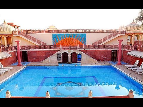 Hotel Chokhi Dhani Hotel At Jaipur