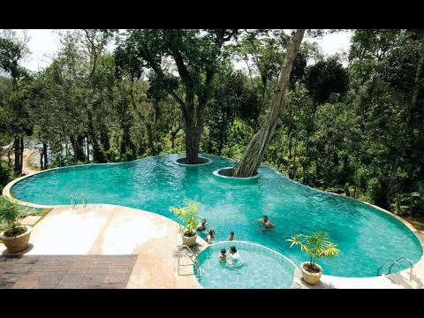 Windflower resort hotel at coorg for Resorts in kodaikanal with swimming pool
